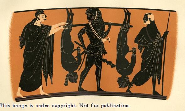 Herakles, l'uomo dal sedere nero!